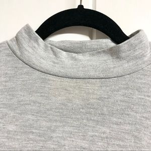LOFT Tops - Anne Taylor LOFT Grey 3/4 Sleeve Top